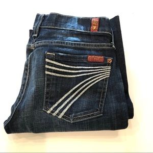 7 For All Mankind Dojo Jeans Size 24